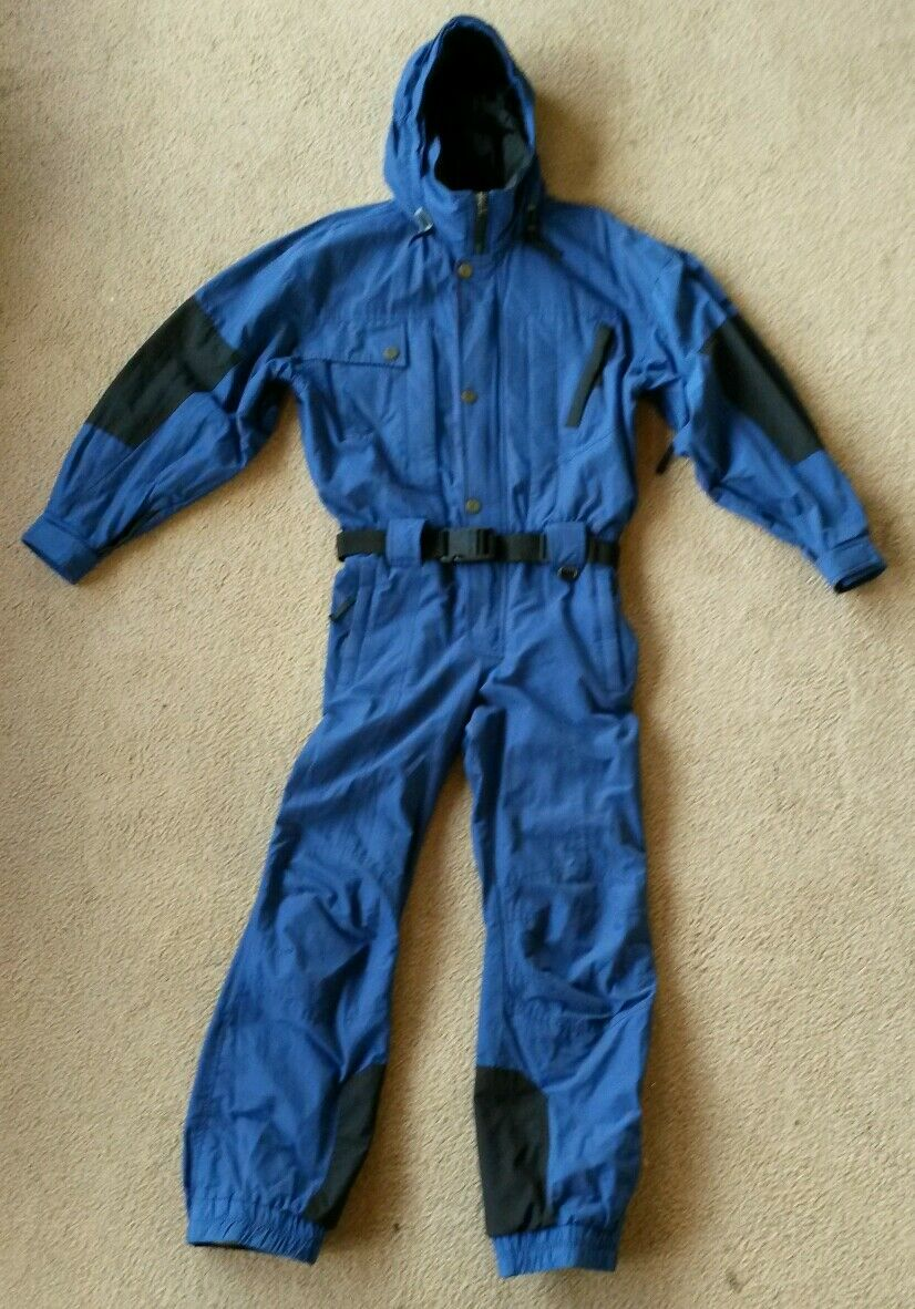 OBERMEYER ski snow board suit,pit  zips,waterpruf,not insulated,mens S one piece  10 days return