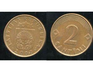 LETTONIE-1-santims-2000-bis