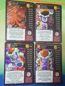 Dragon Ball Z DBZ CCG TCG Custom Panini Proxy Foil Bardock 1-4 MP Set