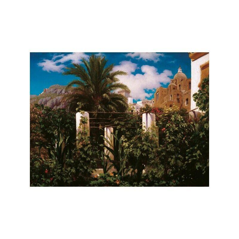 Quadro su su su Pannello in Legno MDF FRouge eric Leighton Garden of an Inn, Capri | Simple D'utilisation  | Belle Qualité  | Ont Longtemps Joui D'une Grande Renommée  336ee1
