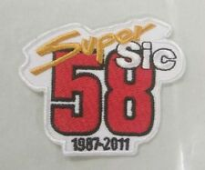 *NEW* Marco Simoncelli remembrance patch / badge. Super Sic,58,Moto GP.