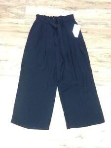 Piccola Women Nero Pantalone Cropped Zara Taglia xAqPfqn