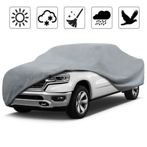 Pickup Truck Covers >> Details About Neverland Heavy Duty Pickup Truck Cover Waterproof Breathable Sun Dust Resistant