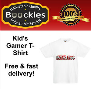 Children S T Shirt Roblox Gamers Present Birthday Christmas Gift Boy Girl Gift Ebay