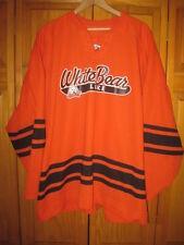 White Bear Lake Bears hockey jersey XXL #3 Minnesota CCM orange