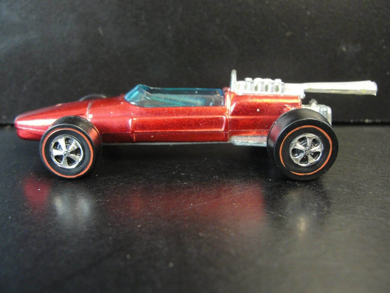 Vintage 1969 Hot Wheels Red Line Brabham Repco FI In NM Mint Shape W Badge