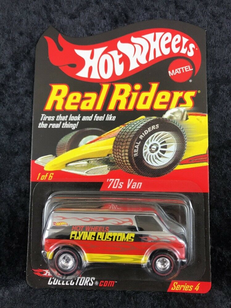 Hot Wheels Collectors Club Real Riders Series 4 '70s Van
