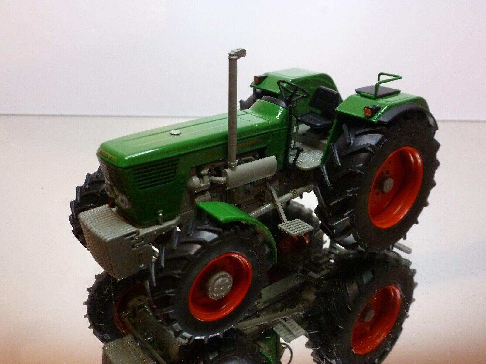 WEISE TOYS DEUTZ D 130 06 TRACTOR - GREEN 1 32 RARE SONDE MODEL - VERY GOOD