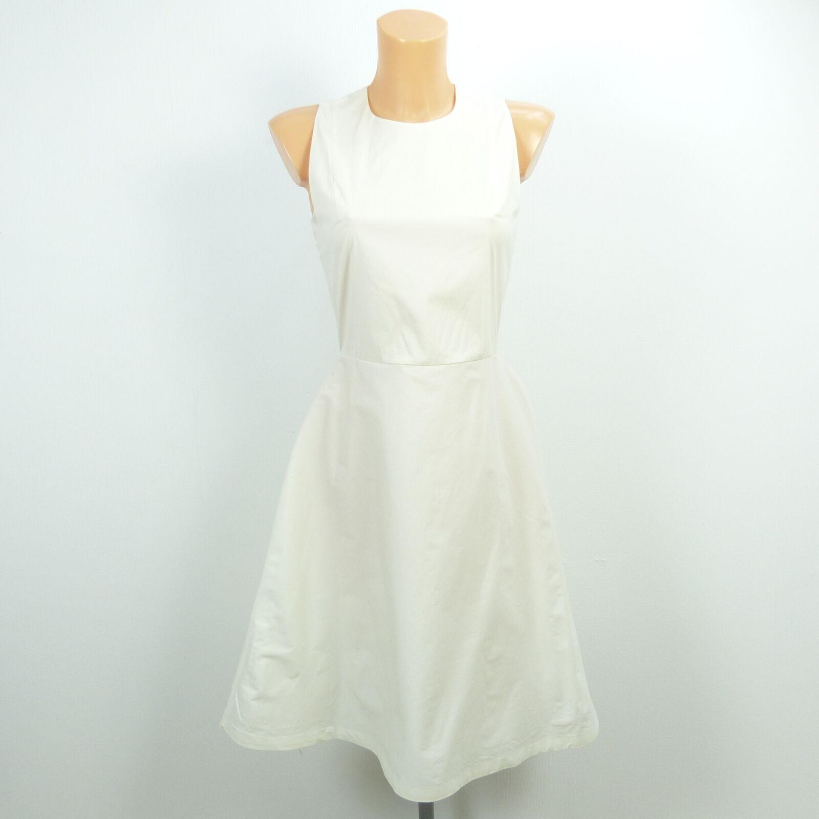 COS COS COS Kleid Dress Festlich white Offwhite Gr. 34 XS adb924