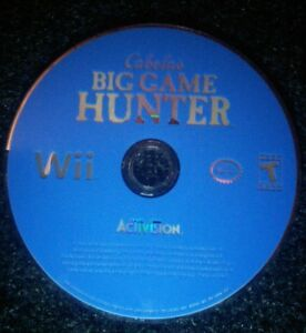 Cabela-039-s-Big-Game-Hunter-Nintendo-Wii-Disc-Only-TESTED-Rare-Game-Activision