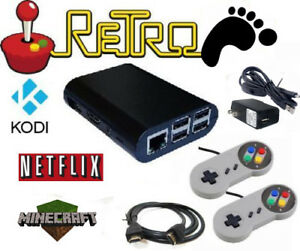 Details about Raspberry Pi retro gaming emulator, 2 SNES controllers, BYO  SD card Retropie