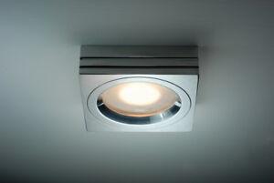 Faretto incasso led gu ip illuminazione bagno doccia