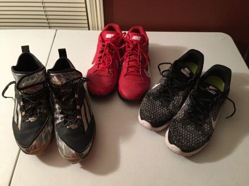 De Sport De 11 Paires Taille D'occasion 3 Nike Adidas Chaussures Et xzIw4R8