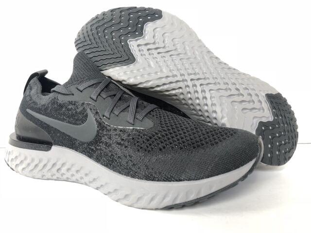 b5e0dc03117fc Nike ID Epic React Flyknit Grey black Bv5968-994 US Men Sz 7.5 for ...
