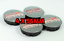 4-x-56mm-OZ-Racing-Logo-Alufelge-Nabendeckel-Satz-Schwarz-Gitter-Rot Indexbild 1