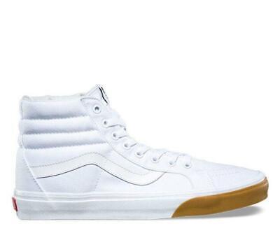 Vans Sk8 Hi Neuauflage Gum Zehenschutz Weiß Schuhe Herren 7.5 Damen Selten ZuverläSsige Leistung Kleidung & Accessoires Herrenschuhe