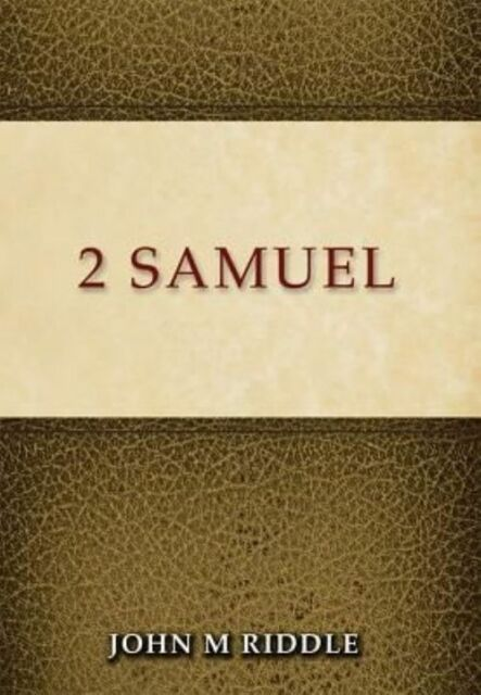 2 Samuel by John Riddle, NEW Book, FREE & FAST Delivery, (Paperback)