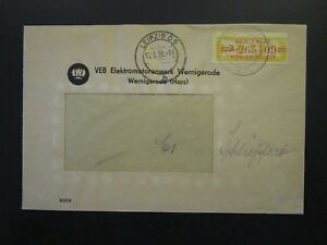 Germany-DDR-1958-Official-Cover-Leipzig-CDS-Z4732