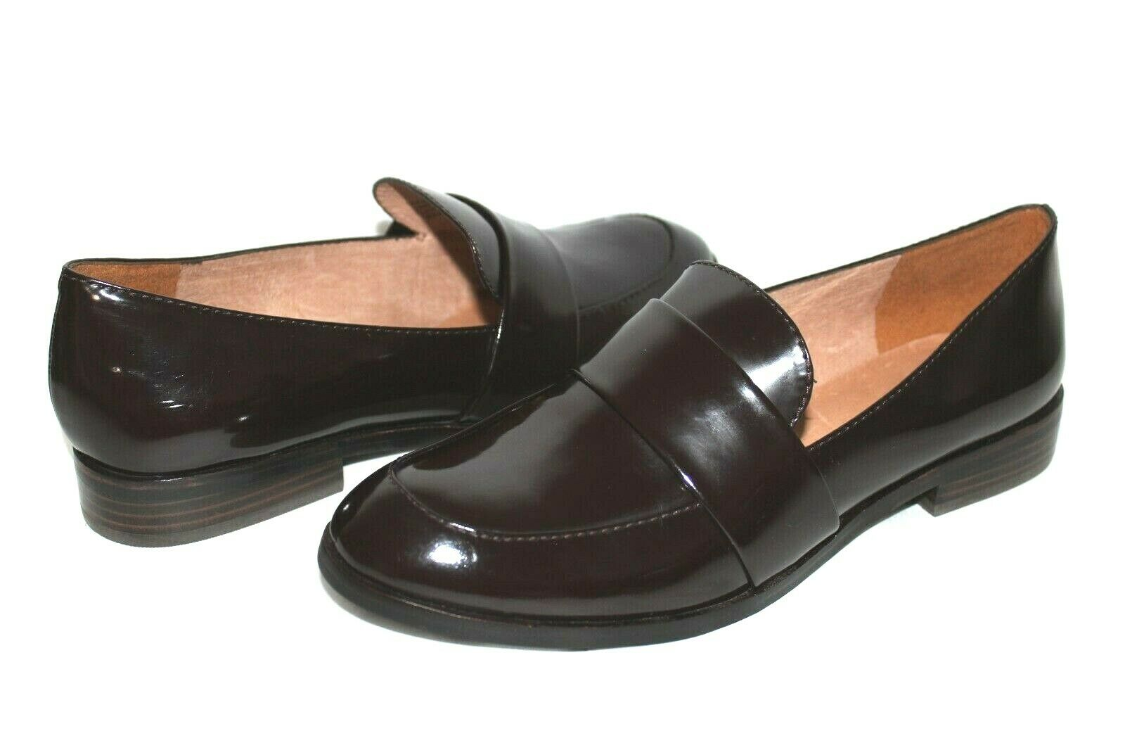 ❤️MADEWELL Elin Burgundy Premium Cordovan Leather Office Loafer 9 M NEW! L@@K!27