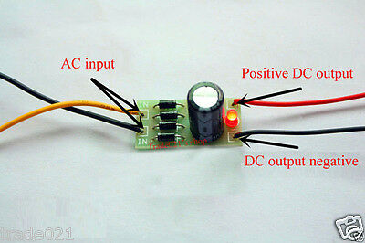 AC-DC Converter 6/12/24V to 12V Full-bridge Rectifier Filter Power Supply Module