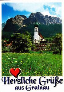 Herzliche Grüße aus Grainau , gelaufene AK - Lambrechtshagen, Deutschland - Herzliche Grüße aus Grainau , gelaufene AK - Lambrechtshagen, Deutschland