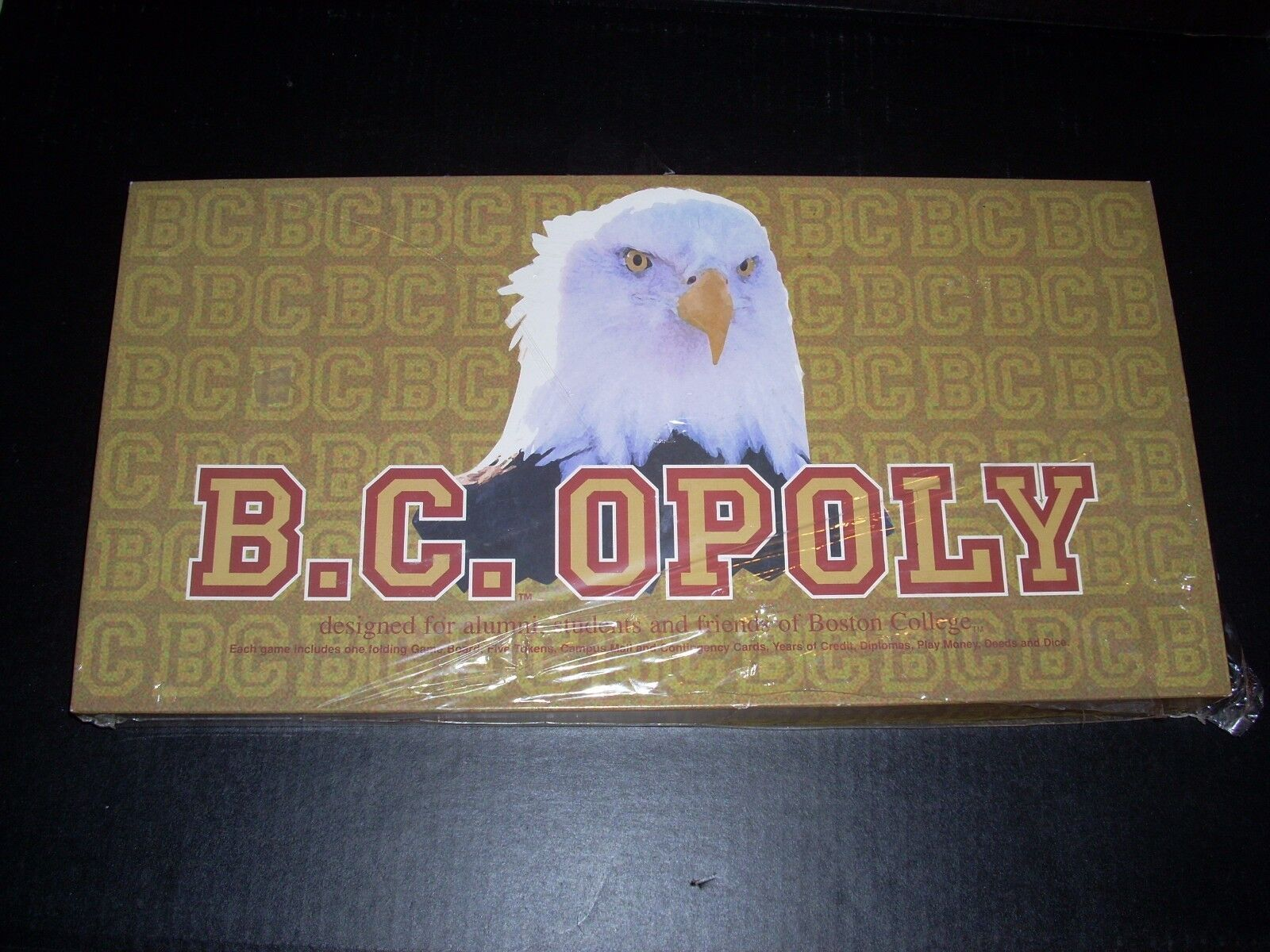 B.C.OPOLY Board Game Boston College Monopoly sealed
