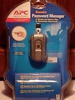 Apc Biometric Password Manager Security Fingerprint Reader
