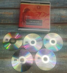 Demian-Audio-CD-Hermann-HesseComplete-set-mint-condition-Jeff-Woodman