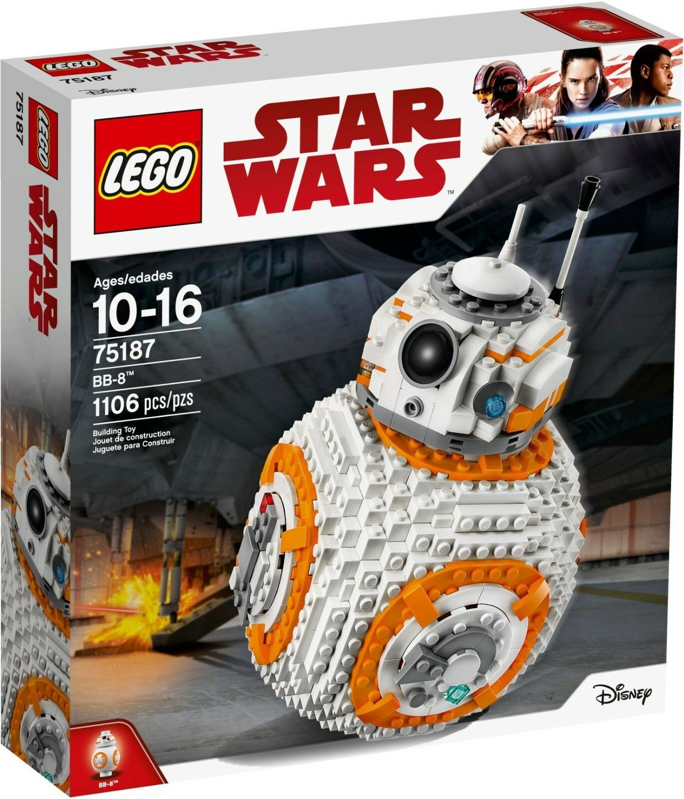 Lego 75187 - Star Wars - BB-8 - Sealed - New 1