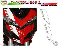Adesivi moto per Nuova Ducati Multistrada 1200 2015 kit cupolino V310