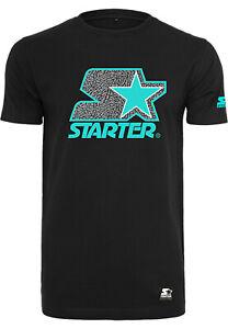 Starter Brand Logo Tee grey black wht caps T-Shirt NEUWARE portofrei Gr.XS - XXL