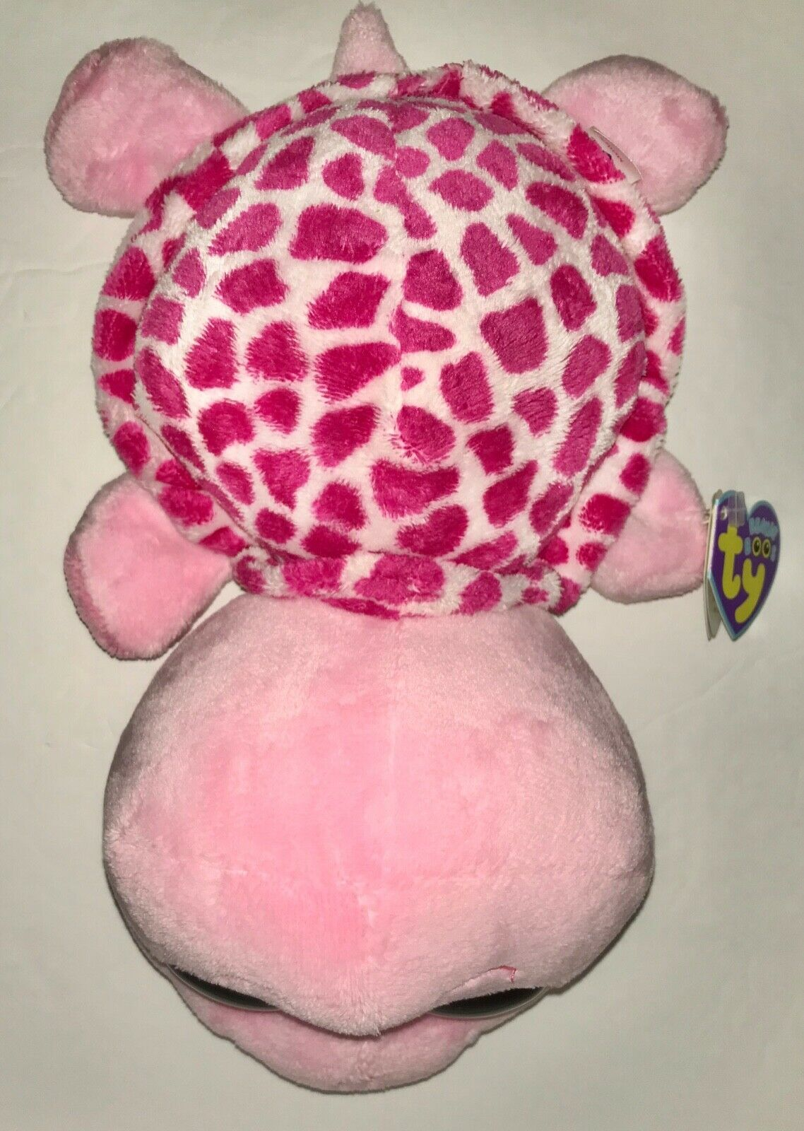 """Pink Turtle RARE Ty Beanie Boo 9/"""" Medium ~ MYRTLE Retired Mint//Mint tag"""