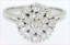 Elegant-1-31ct-VS1-G-Stunning-Diamond-Cluster-Cocktail-Ring-14K-White-Gold-Sz-8 thumbnail 9