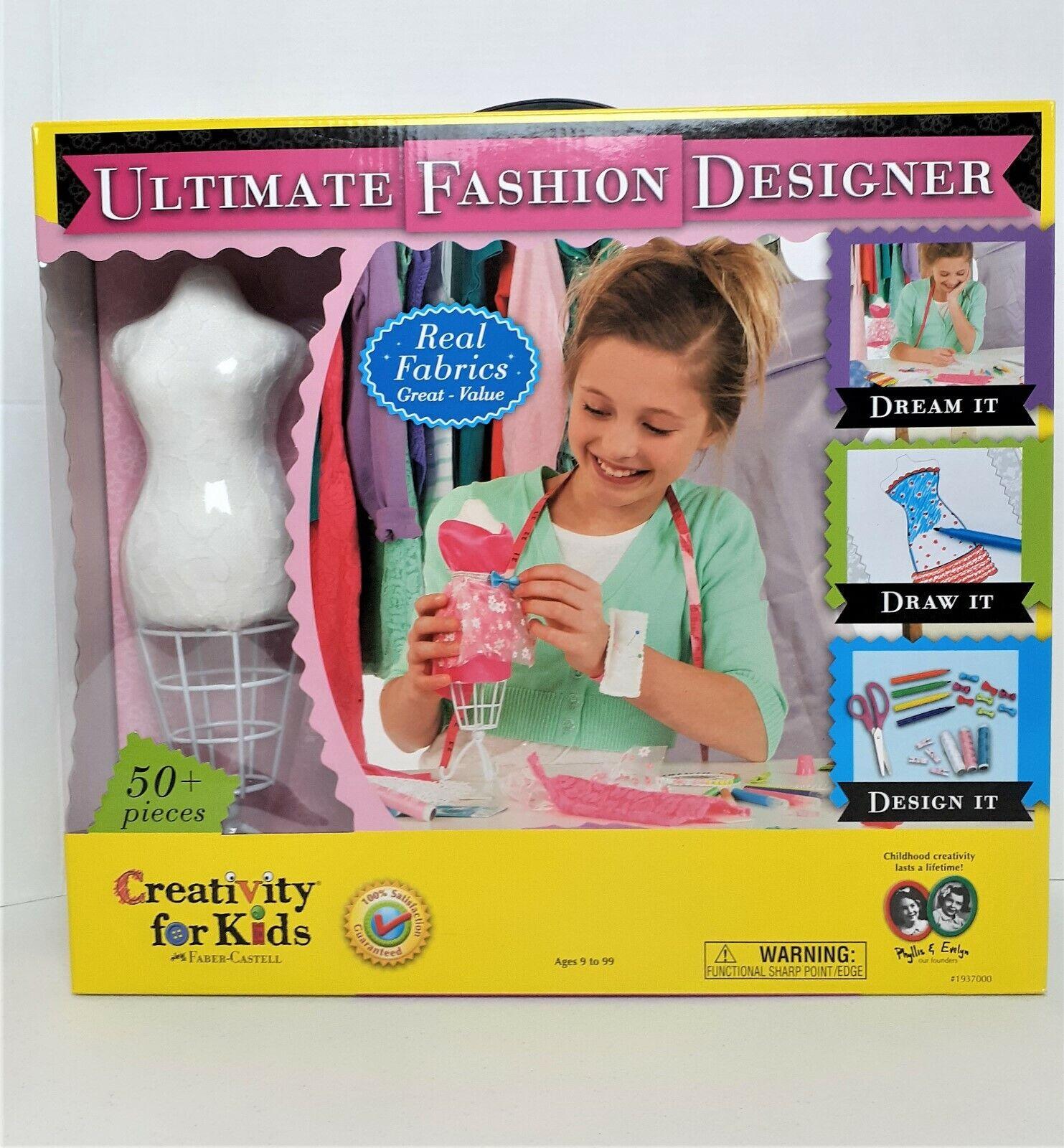 Creativity For Kids Ultimate Fashion Designer 092633303184 For Sale Online Ebay