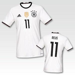 Adidas-DFB-Trikot-EM-2016-Heimtrikot-Deutschland-Erwachsene-mit-Flock-Name-Neu