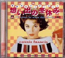 CONNIE FRANCIS - I'M GONNA BE WARM THIS WINTER  CD  1998  POLYDOR  JAPAN