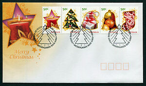2009-Merry-Christmas-FDC-First-Day-Cover-Stamps-Australia
