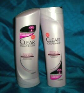 Clear Scalp & Hair Therapy Damage & Color Repair Shampoo & Conditioner Set