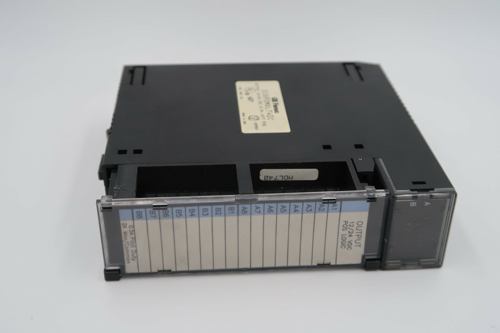 GE Fanuc IC693MDL740C Output 12 24 VDC 0.5A 16PT POS Module