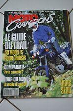 MOTO CRAMPONS hors série n°3 SPECIAL TRAIL 90- HONDA 650 DOMINATOR/600 TRANSALP