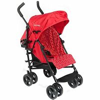 Kinderwagon - Skip Umbrella Stroller - Red - Brand