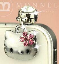 Cute Kawaii Hello Kitty Phone Charm Plug Anti-Dust for 3.5 mm Earphone Jack