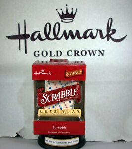 Hallmark-Scrabble-Christmas-Tree-Ornament-New