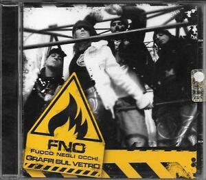 FNO-FUOCO-NEGLI-OCCHI-RARO-CD-RAP-ITALIANO-034-GRAFFI-SUL-VETRO-034