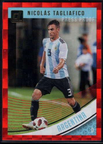 Pick A Card Press Proof Red 2018-19 Donruss Soccer