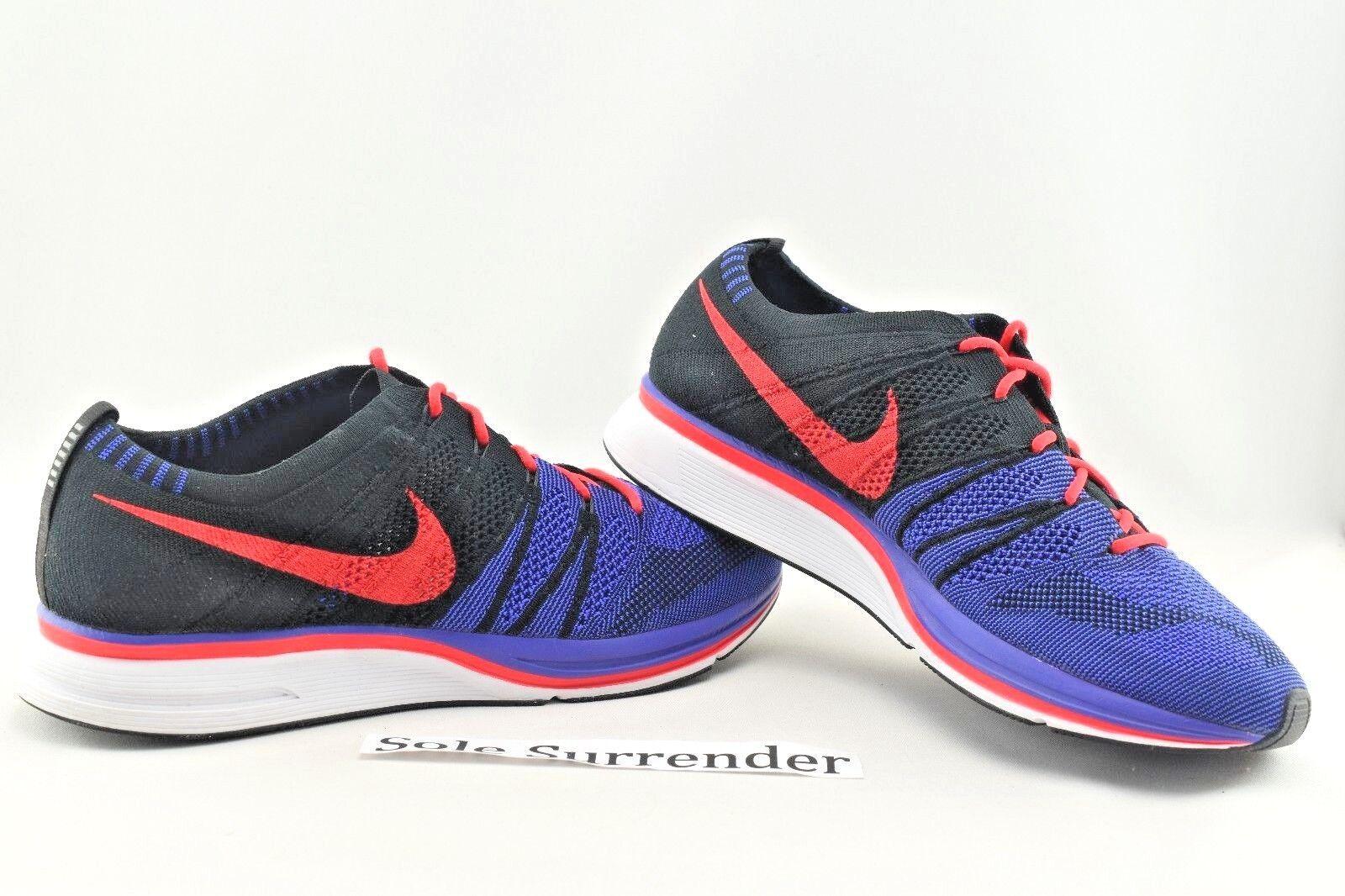 Nike Flyknit Trainer - CHOOSE SIZE - AH8396-003 Raptors Red Purple White purple
