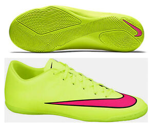 ffad11d2fd NIKE MERCURIAL VICTORY V IC JUNIOR YOUTH INDOOR SOCCER FUTSAL SHOES ...