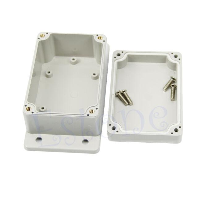 "Waterproof Plastic Electronic Project Box Case Enclosure 3.94"" x 2.68"" x 1.97"""