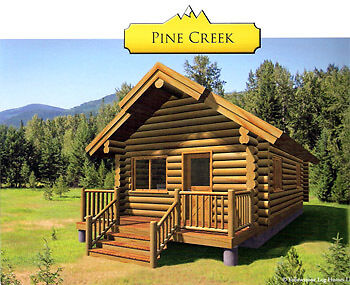 Bug Out Log Cabin Hunters Cabin Doomsday Preppers Cabin Kit Vacation Get Away