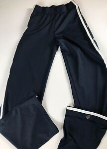 Fashion-Nova-Breakaway-Pants-Womens-Small-Tearaway-Blue-25-x-33-Actual-Stretch